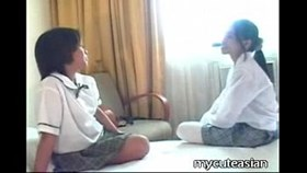 two young lesbian asian girls having sex arou