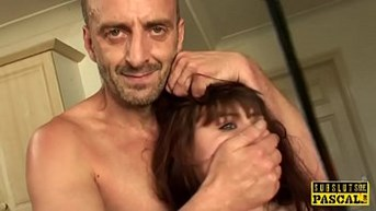 French sub slut assfucked by her maledom