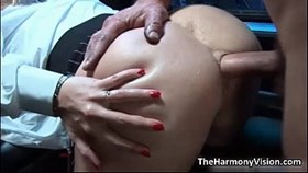 busty blonde whore gets her a