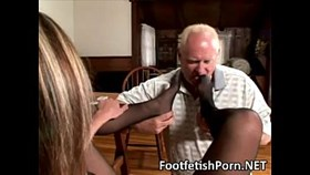 nylon foot worship fetish