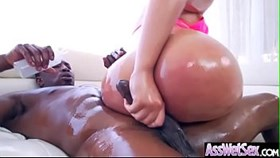 (assh lee) slut girl with big oiled butt get hard anal sex movie-