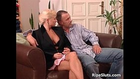 mature woman and blonde sex bomb getti