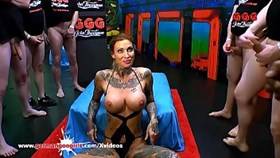 Calisi Ink Busty Tattooed Cum Lover - German Goo Girls