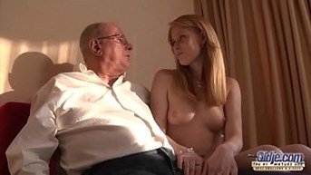 old young sex grandpa likes to fuck young girls and lick pussies