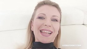 sindy rose comes to try black cock double anal ampamp fisting