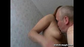 old man up inside young pussy