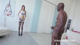 ginger fox gets deep fucked and gaped non stop with big black co