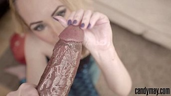 Candy May - Intense and sensual POV handjob