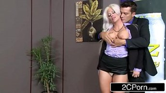 Hot Office Sex With Holly Heart