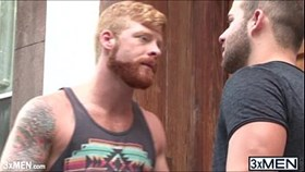 redhead hot dude bennett anthony finds luke adam for a great gay fucked