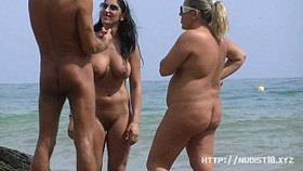 nudist beach voyeur shoots naked girls sunbathing