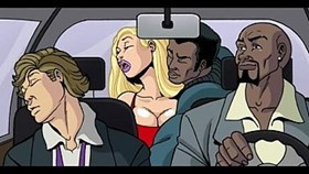 interracial cartoon vid