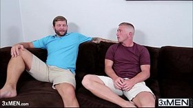 real hot men colby jansen and scott riley engages in a hot gay blowjob
