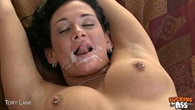 brunette tory lane gets ass fucked and facializ