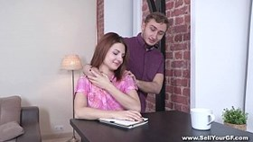 sell your gf - coed nora star fucked for student loan young sex