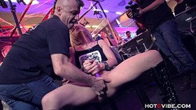 petite blonde squirts uncontrollably