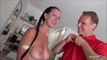 Texas Patti German MILF Pornstar at Real Fan Fuck Date