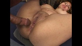 bbw gets double teamed and creamed