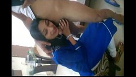 sexy desi indian girl in salwar kameez gives awesome blowj