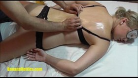 sexy oil massage for shy casting gi