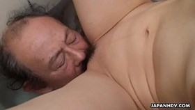 filthy cheating girlfriend getting her pussy eaten by the dude