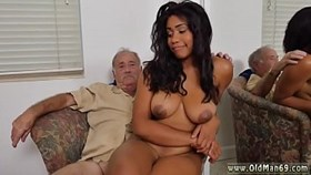 brunette hairy grannies fuck and latin young with big boobs having sex