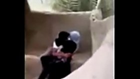 saudi boy having sex syrian hijab girl outdoor