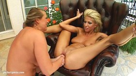 fist flush presents clara g and mandy bright in a lesbian fisting scene