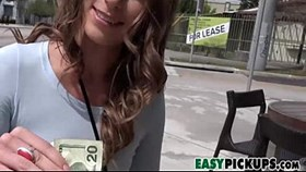 pickups with kirsten lee - fucked for money in public