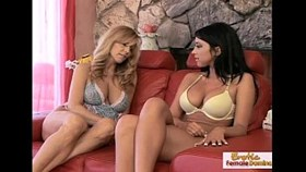 playful hotties go lesbian for the first time ev