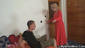 old mother riding her manamps cock
