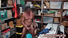 shoplifting case no 8859825 with sexy young thief
