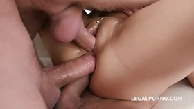 Facialized mit TAP May Thai 5on1 Balls Deep Anal DAP TP TAP GAPES Mehrfachgesichtsbehandlung GIO808