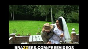 busty brunette bride jasmine jae fucks the brother of the groom