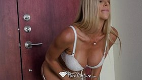 puremature - tall blonde milf alexis fawx fucked
