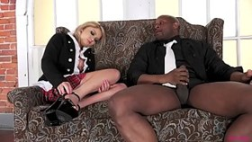 nice young fucked in ass by big black rod
