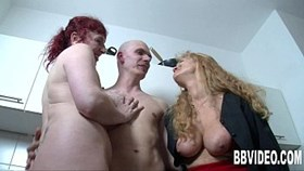 german milfs suck and fuck a big shaft