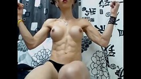 Chica Fit con Abs Sexy