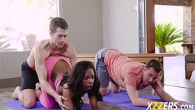 Sarah Banks Her Freaky Yoga Teach