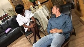 psychiatric nurse jasmine webb gives scorching anal relief to hot patient