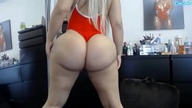 lissa aires huge massive ass shake
