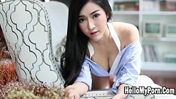 Sexy Model Thailand Show Her Beautiful Slow Motion 60fps