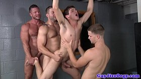 prison orgy baton in johnny rapids a