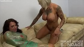female muscle lesbians brandimae and duchess dani andrews