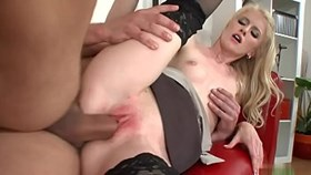 nice ass katie gets nailed brutally from behind