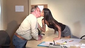 brunette young angela allison fucks senior guy harry