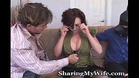 naughty wife with submissive hub