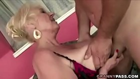 granny fucks new yoga teacher