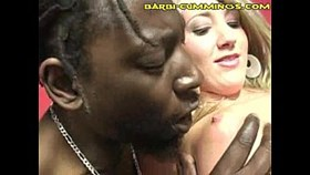 Interracial Orgy Threesome