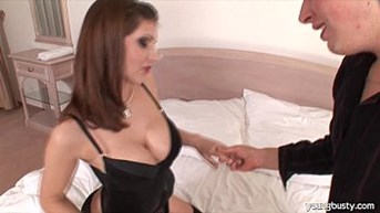 sexy young sarka gets big tits fucked